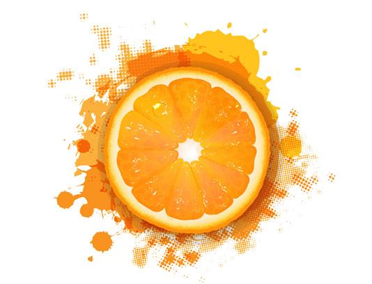وکتور بکگراند پرتقالی گرانج