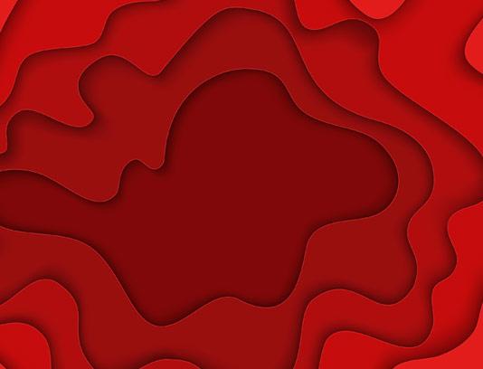 وکتور پس زمینه انتزاعی موج دار قرمز