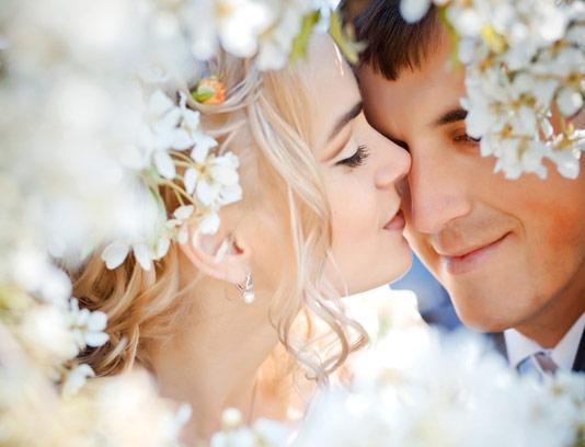 عکس با کیفیت ژست عروس و داماد