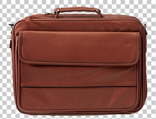 عکس دوربری شده کیف چرم قهوه ای