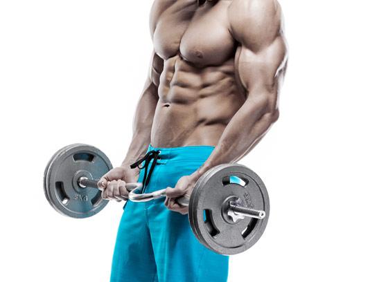 عکس با کیفیت استایل بدنسازی مردانه
