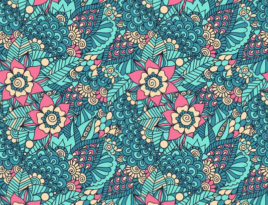 وکتور پس زمینه گل و بوته خلاقانه