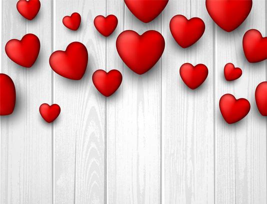 وکتور بکگراند با طرح قلب