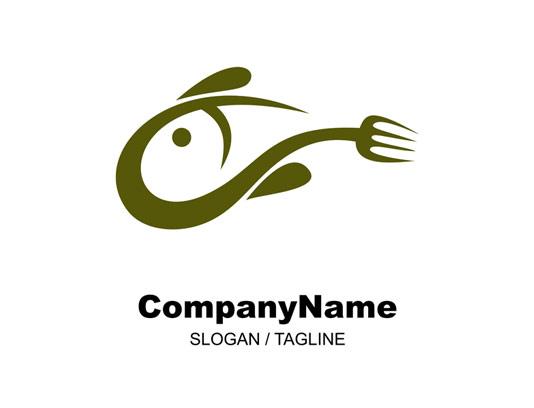لوگو رستوران غذاهای دریایی