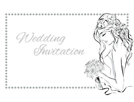 وکتور کارت دعوت عروسی لاکچری