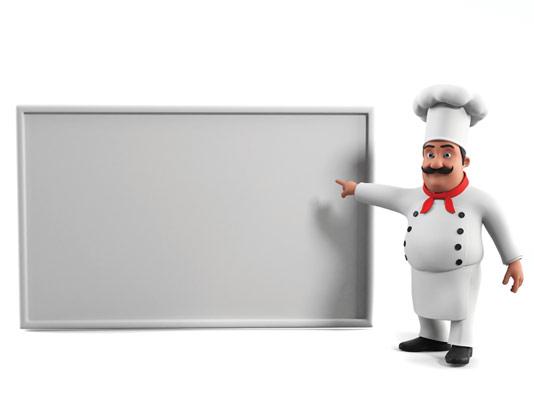 عکس با کیفیت کاراکتر سرآشپز
