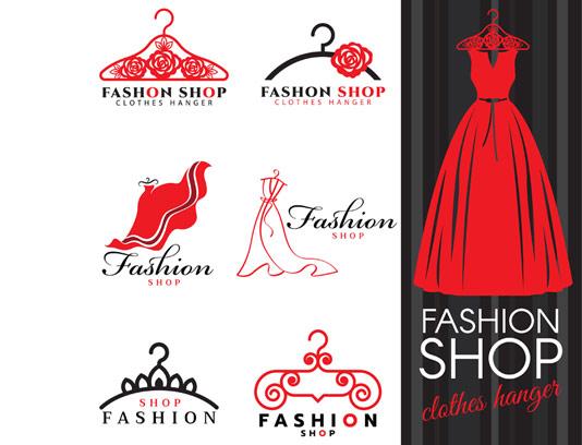 وکتور لوگو فروشگاه لباس زنانه