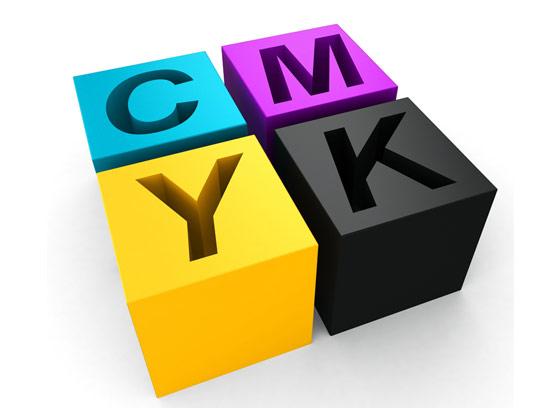 عکس با کیفیت مد رنگی سه بعدی CMYK