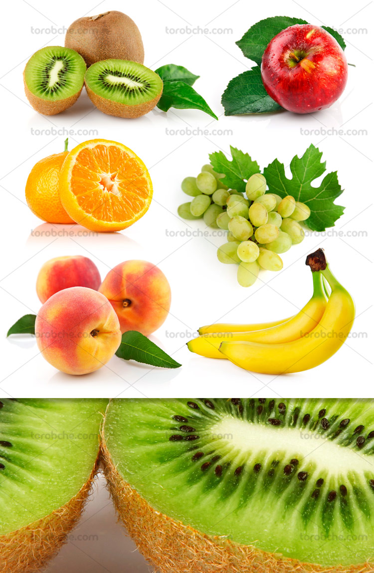 عکس با کیفیت میوه جات تازه
