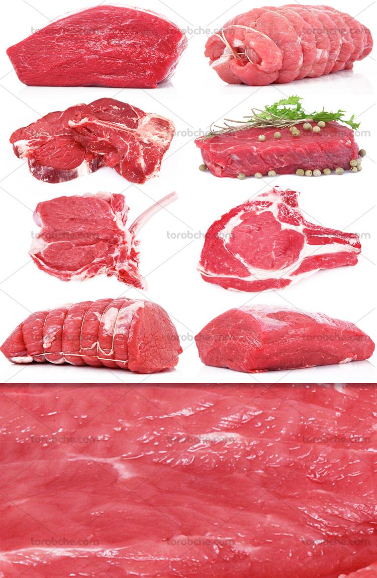 عکس با کیفیت گوشت گوساله
