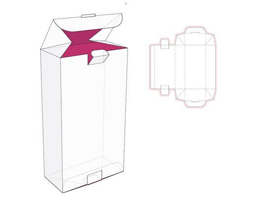 وکتور صفحه گسترده جعبه کادویی