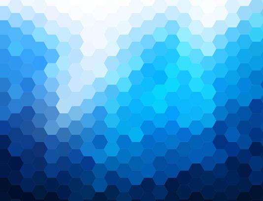 وکتور بکگراند انتزاعی با شش ضلعی