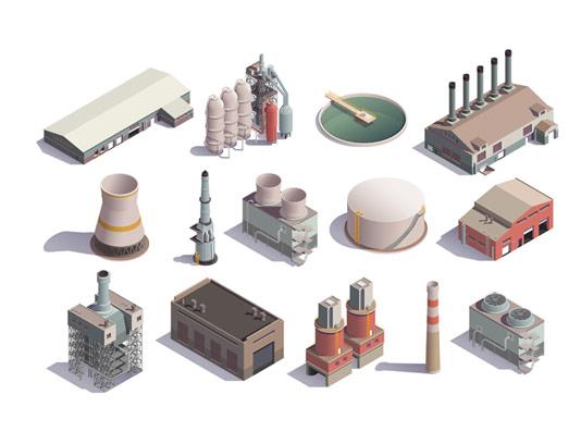 وکتور ایزومتریک نیروگاه و کارخانه