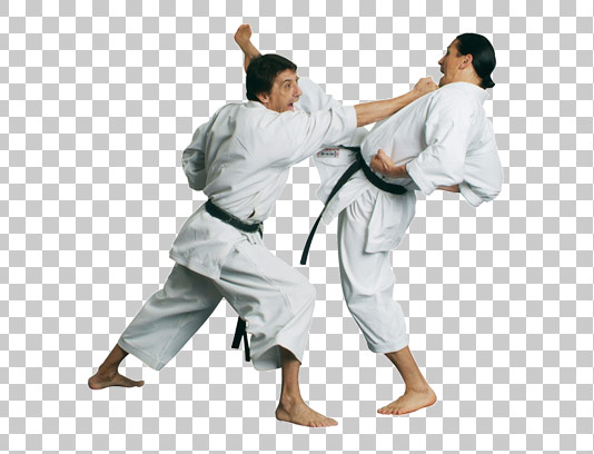 عکس دوربری شده ورزش رزمی کاراته