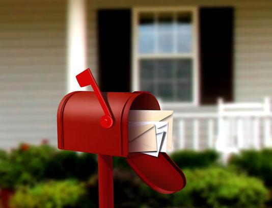 عکس با کیفیت صندوق پست قرمز