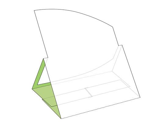 وکتور صفحه گسترده بسته بندی رومیزی