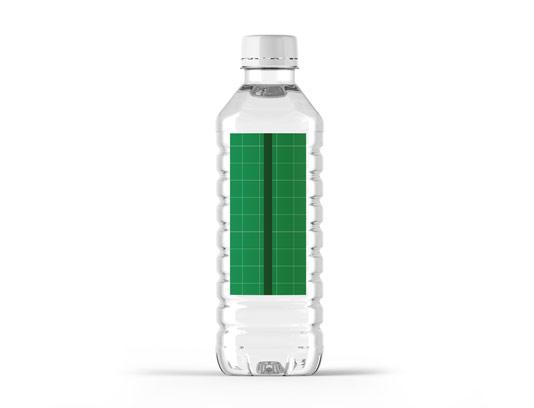 طرح لایه باز و موکاپ بطری آب معدنی