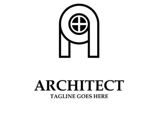 وکتور لوگوی معماری و طراحی داخلی