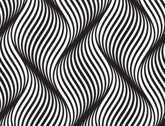وکتور پترن و زمینه خلاقانه سیاه و سفید