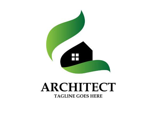 وکتور لوگوی معماری خلاقانه