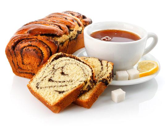 عکس با کیفیت عصرانه چای و کیک