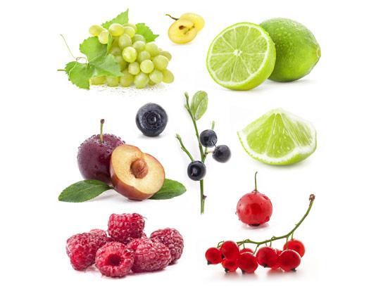 عکس با کیفیت میوه تازه با قطرات آب