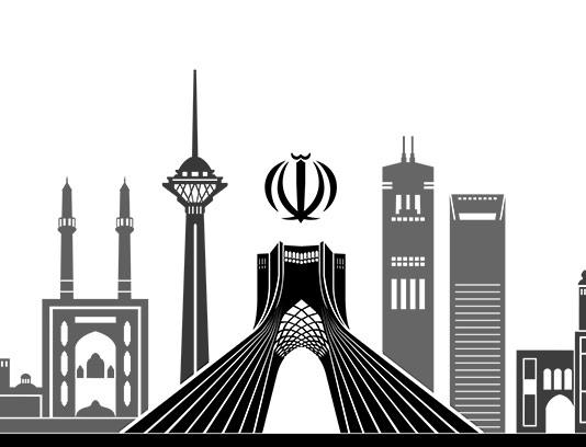 وکتور برج میلاد،میدان آزادی و حافظیه شیراز