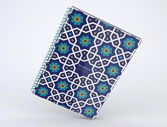 جلد دفتر اسلامی لایه باز