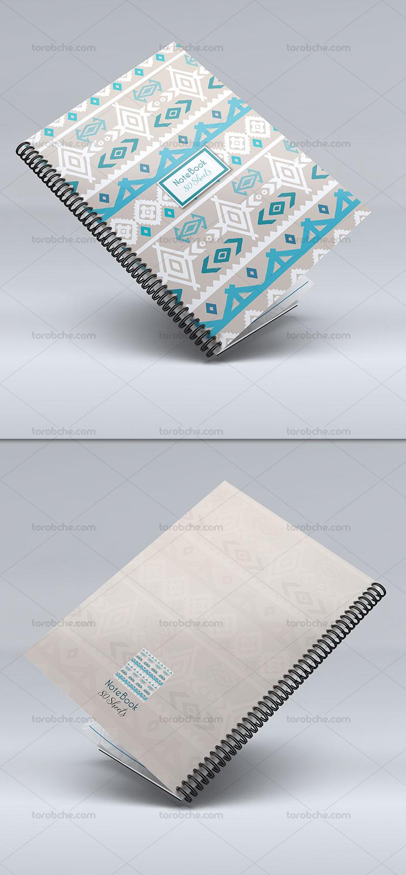 طرح جلد دفتر فانتزی لایه باز