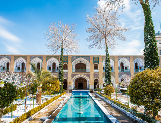 عکس هتل عباسی با کیفیت عالی