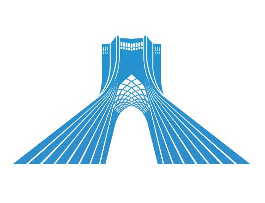 وکتور میدان آزادی تهران