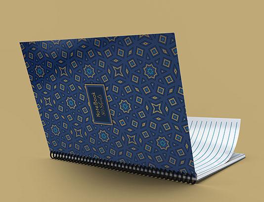 طرح جلد دفتر اسلامی لایه باز