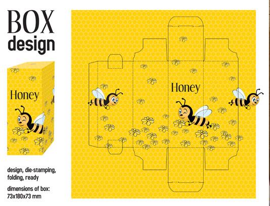 صفحه گستره باکس طرح زنبور عسل