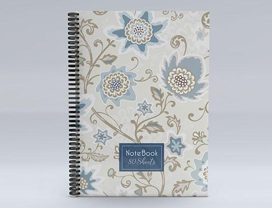 جلد دفتر لایه باز گلدار