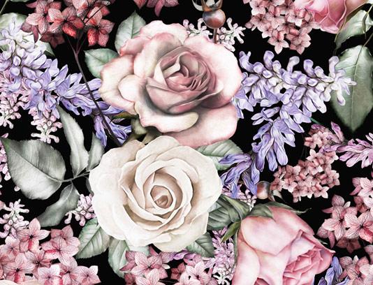 پس زمنیه و بکگراند گلدار آبرنگ