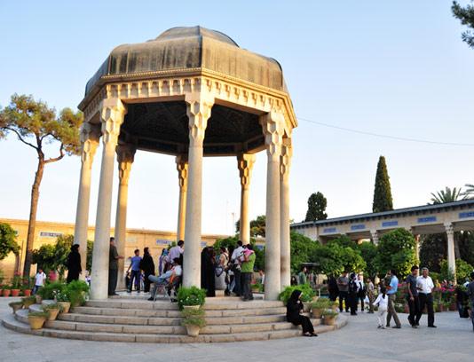 عکس آرامگاه حافظ با کیفیت عالی