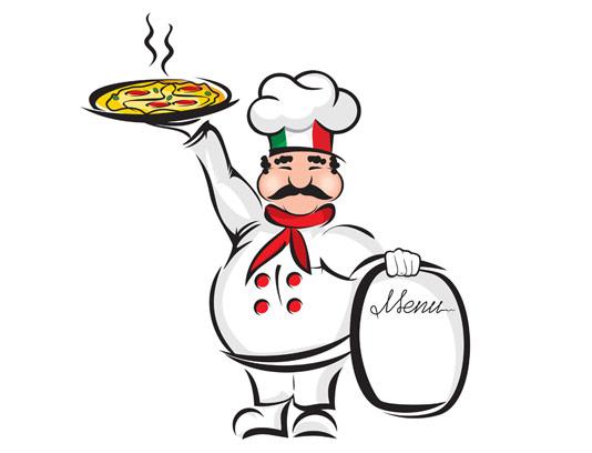 وکتور کاراکتر سرآشپز ایتالیایی