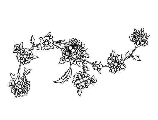 وکتور گل و بوته ختایی