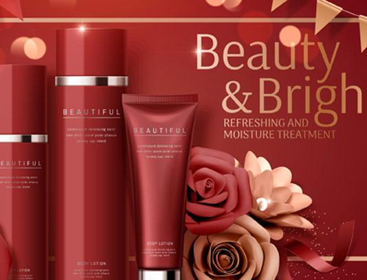 پوستر تبلیغاتی محصولات آرایشی