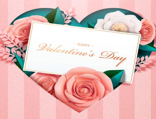 وکتور کارت تبریک عاشقانه