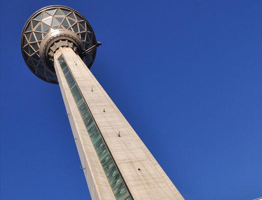عکس برج میلاد تهران با کیفیت