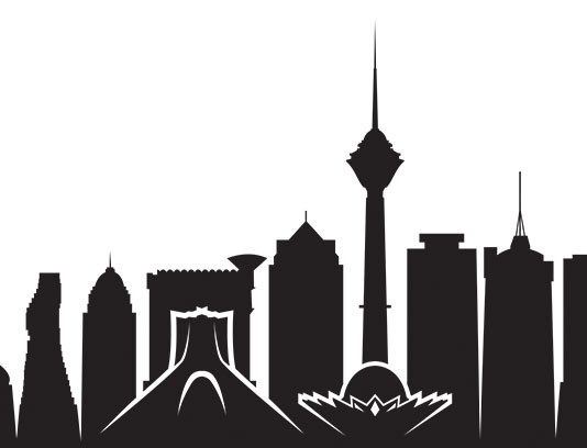 وکتور تهران، برج میلاد و میدان آزادی