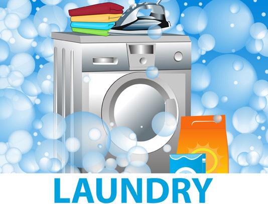 وکتور ماشین لباسشویی و مواد شوینده