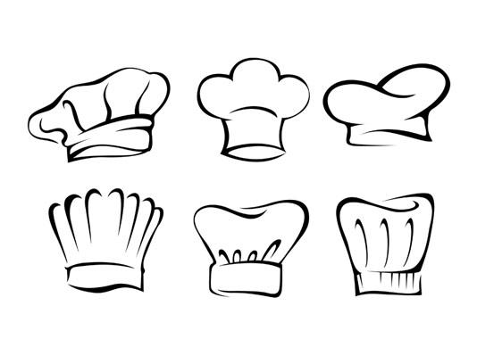 وکتور لوگو کلاه سرآشپز