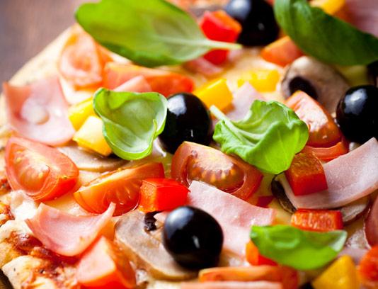 عکس پیتزا ایتالیایی با کیفیت عالی