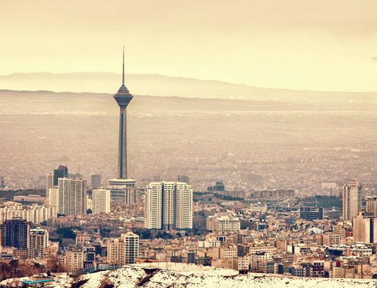 عکس برج میلاد