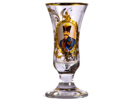 عکس با کیفیت گلدان قاجار