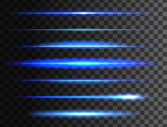 وکتور نورهای جداکننده آبی
