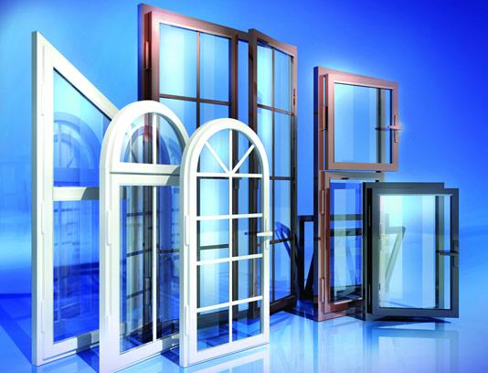 عکس با کیفیت پنجره های دو جداره