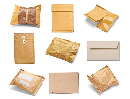 عکس پاکت نامه و بسته بندی